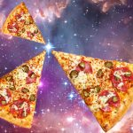 Deep-space pizza